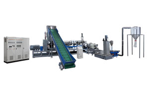 Double-stage granulator